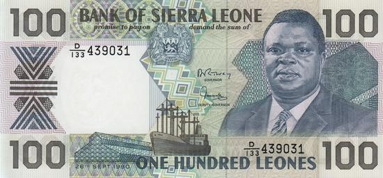 Währung In Sierra Leone 5 Buchst